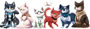Com: Dem Guardian Cats: Part Dos! by DragginCat