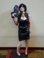 Mass Effect Cosplay - Time to punch some reporters by MercerHitsuji