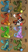 OPEN $5 dragons by Fantasy-Creature