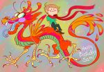 Sam and his Funky Dragon by SammyTorres