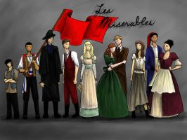 Les Miserables by sadxaffairs