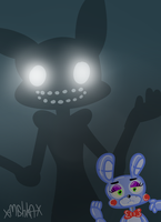 Shadow Bonnie by ThatNerdNamedLaura