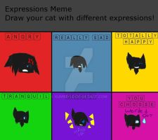 Expressions Meme:Sootleaf by xUmbro