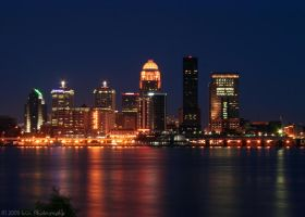 Louisville, KY Skyline by QuicksilverFX