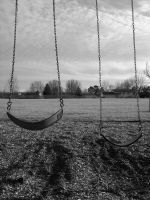 Black and White Swings by RALMPRODUCTIONS