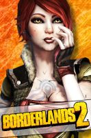 Borderlands 2 Iphone skin - Lilith (pack3) by mentalmars