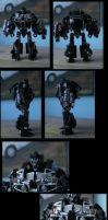 custom AGE OF EXTINCTION ironhide (robot mode) by CASETHEFACE