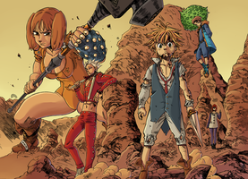 Seven Deadly Sins [91] by Hitotsumami