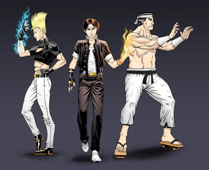 The King of Fighters - Hero Team by Omegaprimus