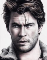 Chris Hemsworth by SvenjaLiv