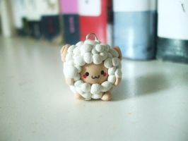 Sheep Charm by Number1FMAfangirl
