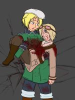 APH- Rescue The Fallen by ChaosTearKitsune