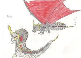 Godzilla Chronicles BATTRA by megagirus07