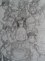 Happy Late 17th(?) Birthday! TF2 by NSYee36