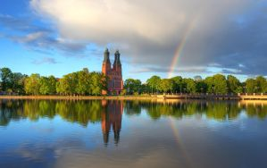 Chasing Rainbows II by HenrikSundholm