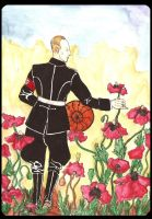 Heydrich tarot: Pentacles:Page by hello-heydi