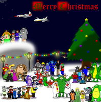 Merry Christmas 2011 by BluebottleFlyer