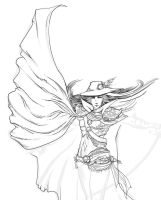 Vampire Hunter D wip by AlexandreaZenne