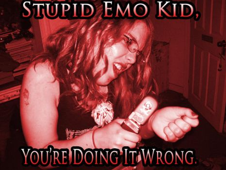 LOL EMO KID by TheOneCalledNio