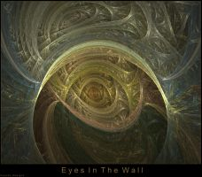 Eyes in the wall by Psychodesignz