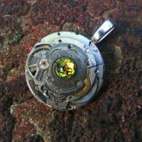 Steampunk IRONMAN Inspired 2nd by Create-A-Pendant
