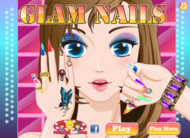 Glam Nails by willbeyou