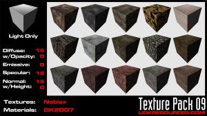 UDK Texture Pack 09 by DK2007