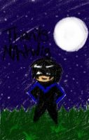 Thanks nightwing by canihaveanangel