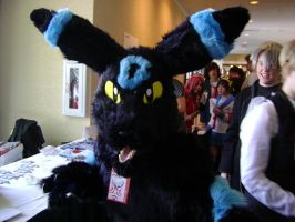 Night's Umbreon Fursuit by DragonFoxStar