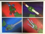 Teenage Mutant Ninja Turtles Hands by ChibiCandi08
