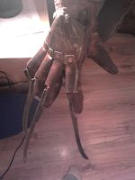 Freddy Krueger Glove finished. by XtcofPain