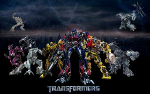 Transformers Wall by knighted-feline