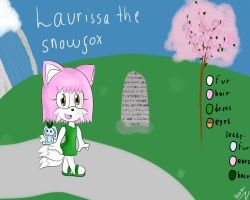 Laurissa The Snowfox by Noonui