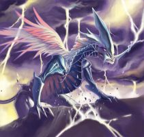 One Wing Dragon by Nestrasentra