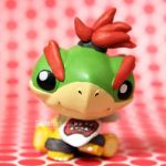 FOR SALE: Bowser Jr. LPS custom by pia-chu