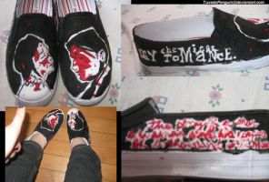 Demolition Lovers Shoes by TuxedoPenguin