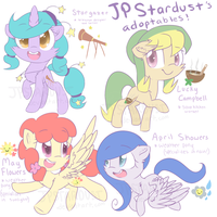 Adoptables (CLOSED!) by jpstardust