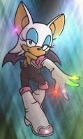 Rouge's Chaos Emeralds by XhavokX