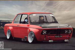 BMW 2002 Race by MattDesign78