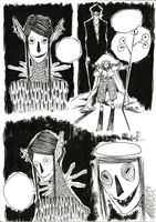 The little witch and the stranger comicstuff 4 by molnareszter