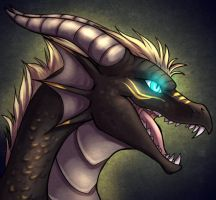 Cray Dragon by howlingvoice