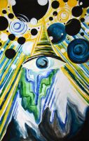 All seeing by hooloovooART