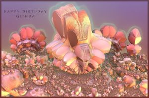 Happy Birthday Glenda by LightBulbMoon