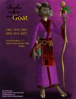 [Character Auction] Chinese Zodiac: Goat by Ulario