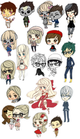 2011.08.14 - tiny chibis batch by hrivend