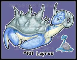 Pokemon: Lapras 2012 by AirRaiser
