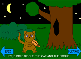 Hey Diddle Diddle the Cat and the Fiddle by Sakichii