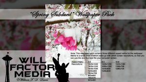 Wallpaper - Spring Subdued by WillFactorMedia