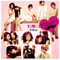 Pack PNG 4Minute by GAJMEditions