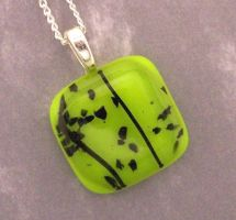 Paradise Lime Green and Black by DivinityDesigns